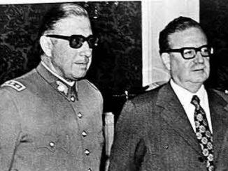 Pinoochet y Allende