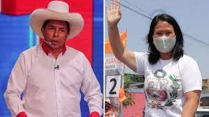 Elecciones Perú 2021: con el 100% del voto procesado, Pedro Castillo y  Keiko Fujimori son los candidatos que pasan a la segunda vuelta de las  presidenciales - BBC News Mundo
